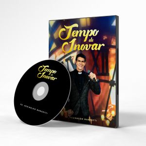 DVD TEMPO DE INOVAR PADRE REGINALDO MANZOTTI