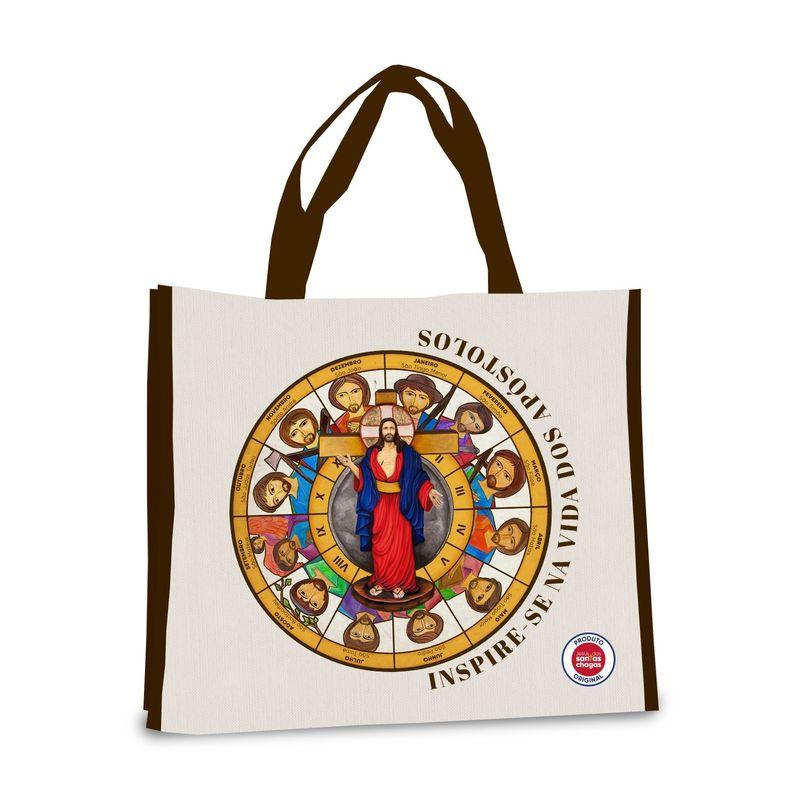 BOLSA-JESUS-DAS-SANTAS-CHAGAS-E-APOSTOLOS---------