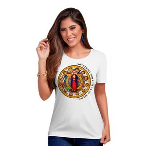 BLUSA FEMININA JESUS DAS SANTAS CHAGAS E APÓSTOLOS