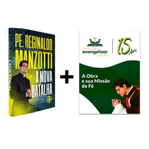 Kit Livro Nova Batalha + Livro da Obra Evangelizar