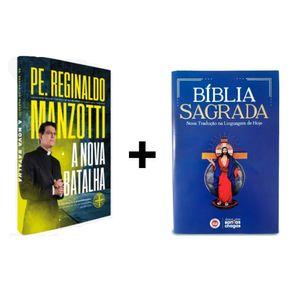 Kit Livro Nova Batalha + Bíblia Personalizada Santas Chagas