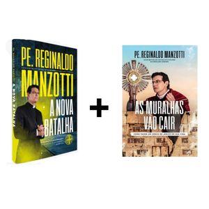 Kit Livro Nova Batalha + Livro As Muralhas Vão Cair