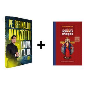 Kit Livro Nova Batalha + Devocionário Santas Chagas
