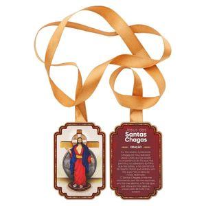 Escapulário de Porta Jesus das Santas Chagas Retangular