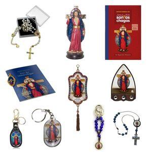 Kit Presente Jesus das Santas Chagas