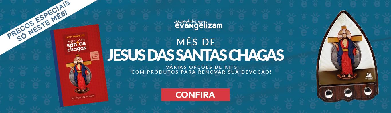 Mês Jesus das Santas Chagas